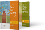 How The Best Get Better® Two-Volume Set<br /> product image.